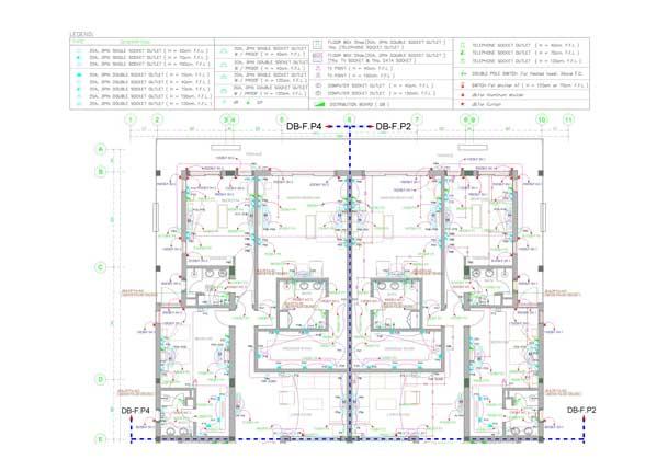 مخططات الكهرباء الباور, مخطط كهرباء المشاريع